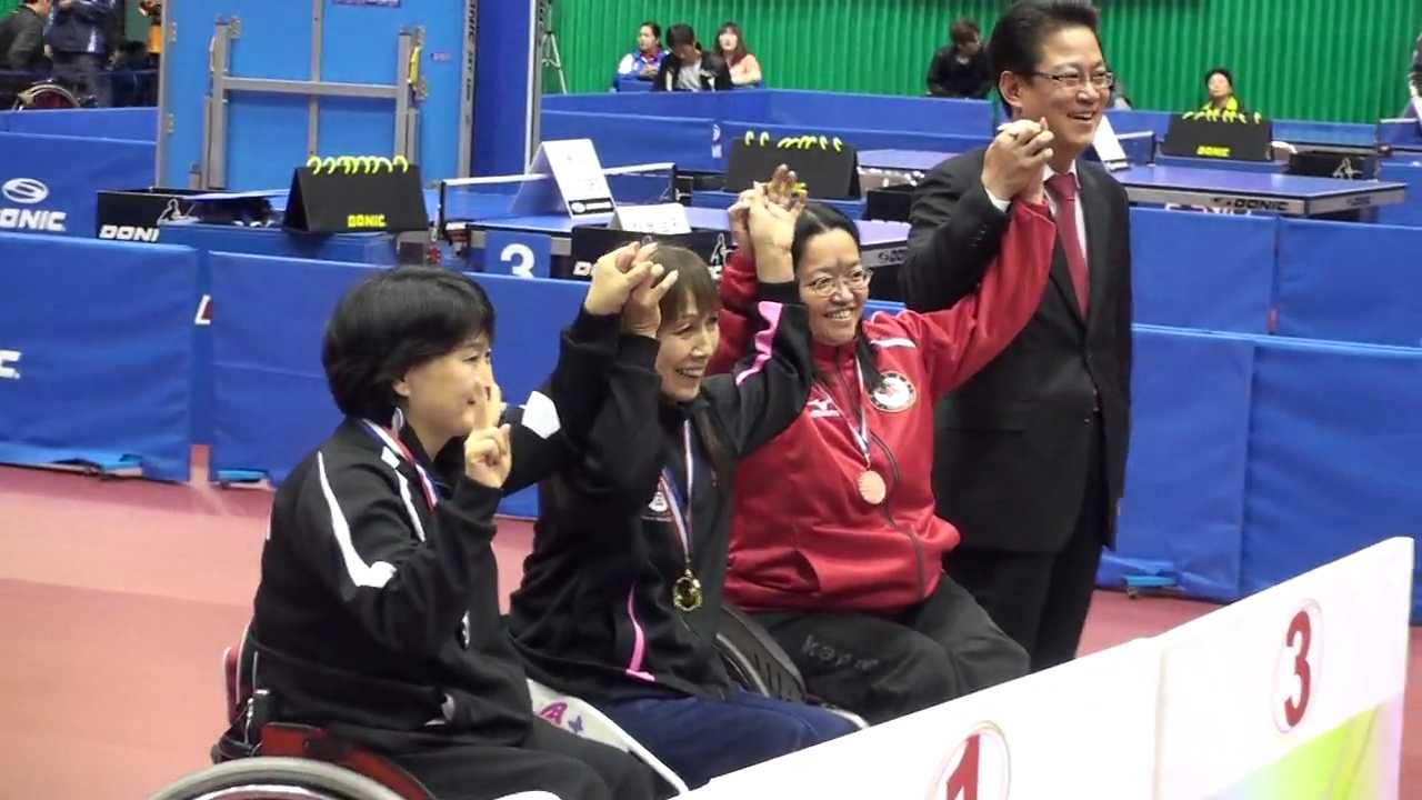 13/11/2009 Gwangju (Korea), 1st Gwangju-Korea International Para Table Tennis-Bronze Medal Single