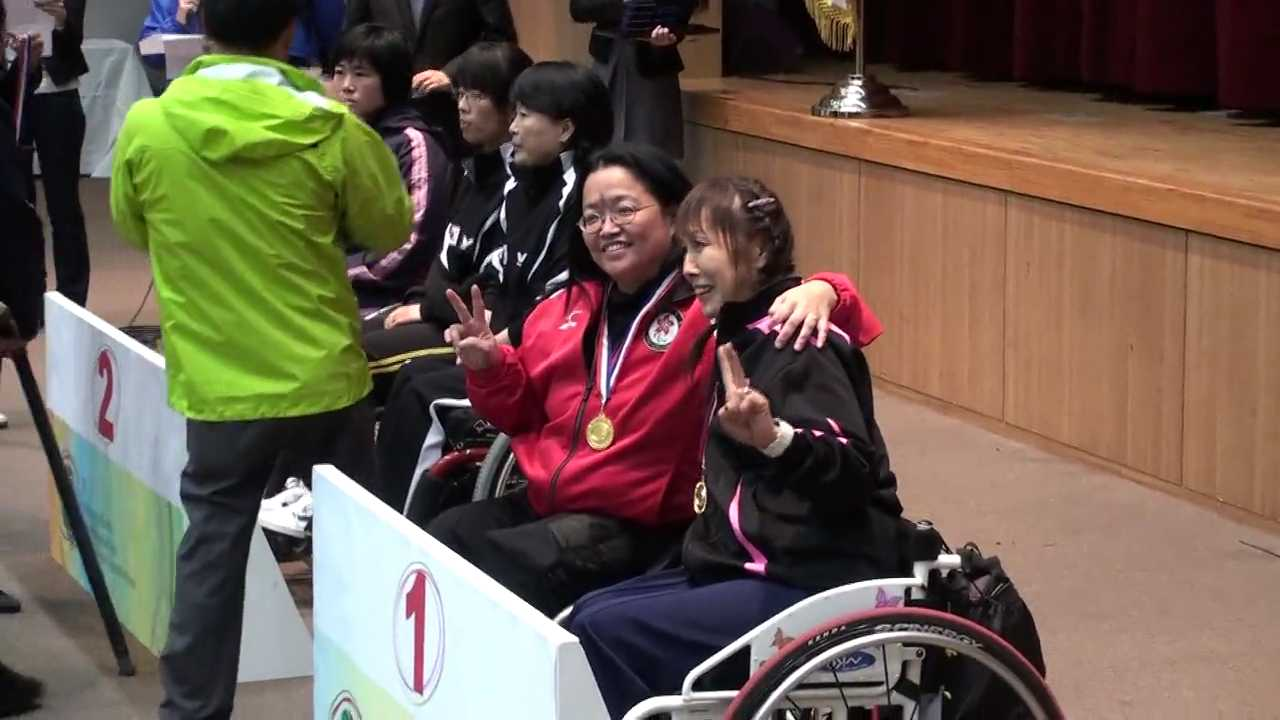 14/11/2009 Gwangju (Korea), 1st Gwangju-Korea International Para Table Tennis-Gold Medal teams
