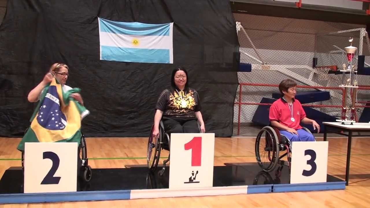 21/11/2009 Buenos Aires (Argentina), Copa Tango VII Open for the Disabled 2009-Gold Medal Single