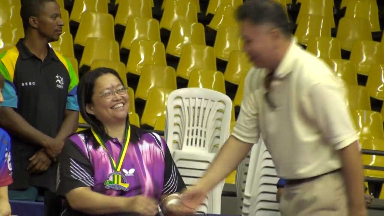 29/11/2009 Brasilia (Brazil), Brazilian Open for Disabled 2009-Bronze Medal Teams