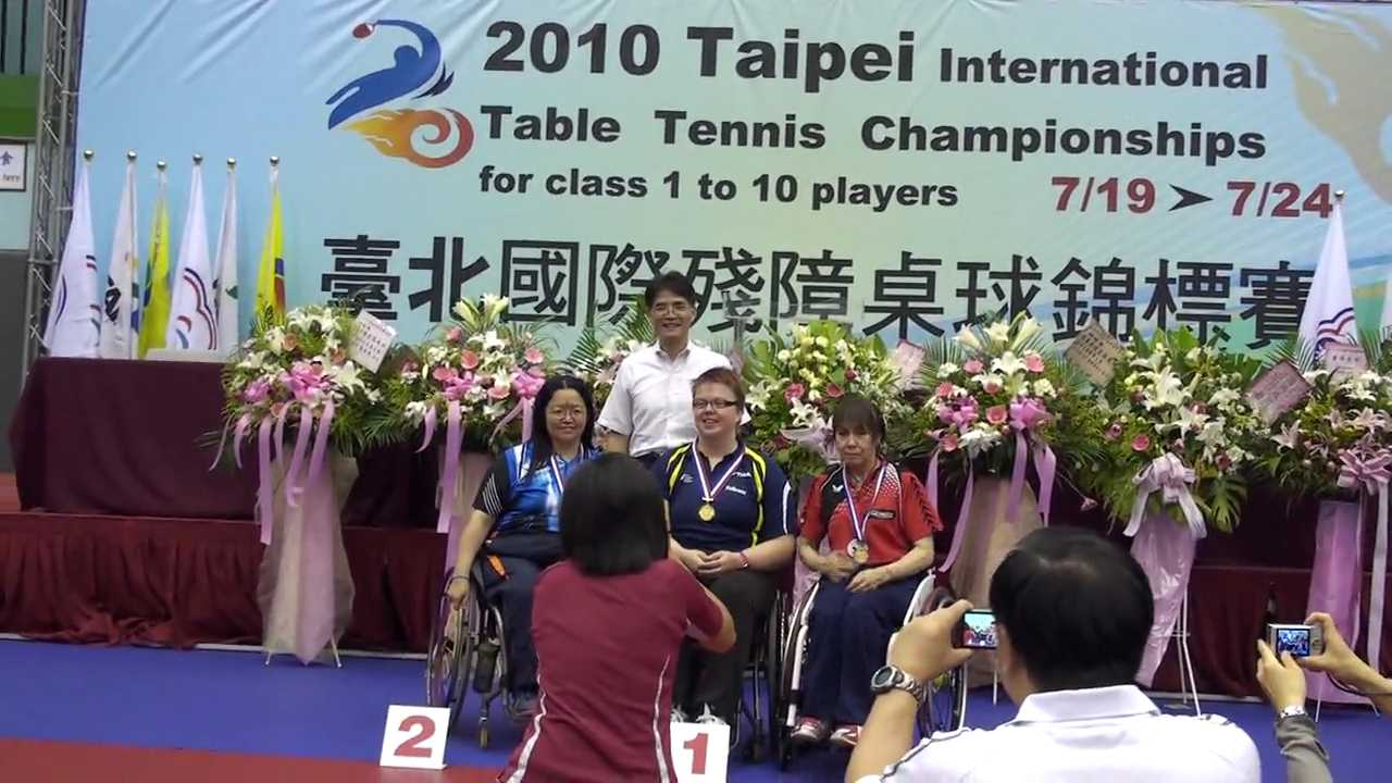 22/07/2010 (Taipei) Taipei, 2010 Taipei International Table Tennis Championships-Silver Medal Single