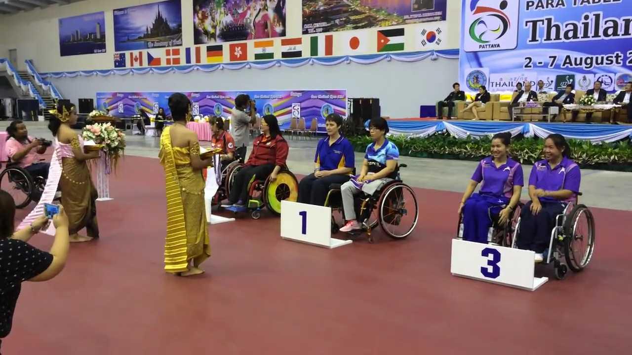 5/8/2014 Pattaya (Thailand), PTT Thailand Open 2014 Bronze Women\'s Teams class 4-5