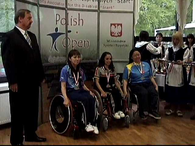 17/5/2008 The 6th Polish Open Table Tennis Tournament Cetniewo/Poland-Silver Medal Single